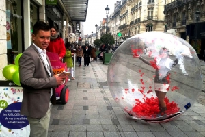 lunioncom street et guerilla marketing Yves Rocher (3)