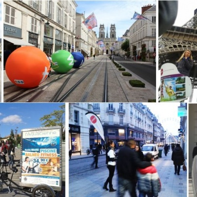 street marketing orleans 45000